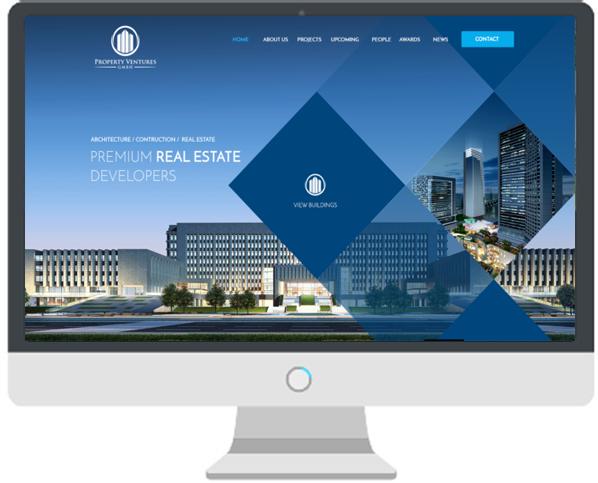 Website BĐS với đầy đủ tính năng